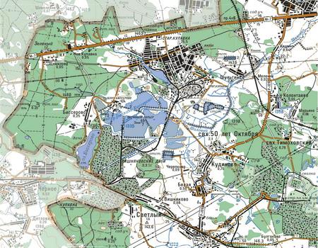 Интерактивная карта Старой